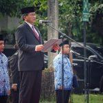 Kemenko Polhukam Laksanakan Upacara Peringati Hari Pahlawan